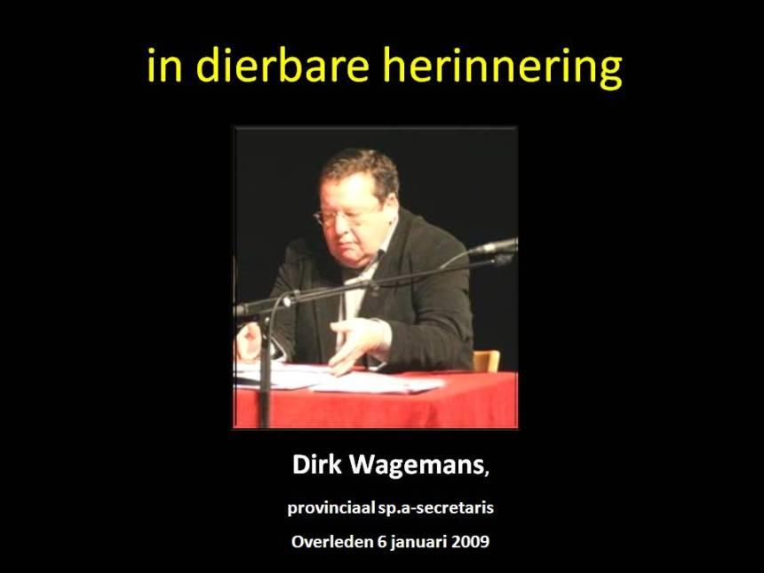 Dirk Wagemans