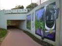 Stuk fietssnelweg in Hove