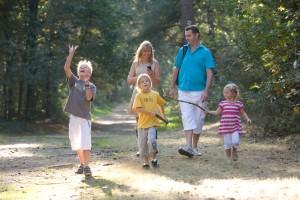 Wandelen met de familie