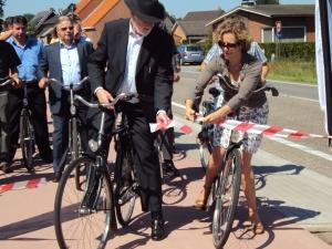 Inhuldiging fietspad Retie 4 juni 10