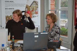 Interview met radio 2 in station Heide