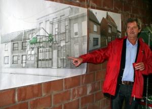 sp.a Fractieleider Fons Dierckx licht plannen dorpshuis toe