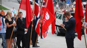 Begrafenis Marianne (16) in Noorwegen