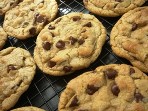Harry's chocolate chip cookies