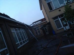 Brand in scholen in Mechelen