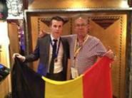 Olivier Bourdiaudhy met chef Dirk De Schutter