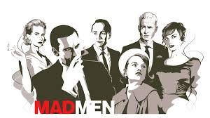 Mad Men maar met minder drank en vintage meubelen