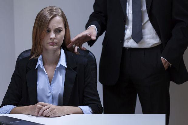 Seksuele intimidatie op het werk