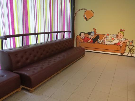 XXL-zetel van Tante Sidonia